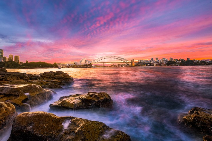 Australia, Long Exposure, Sunset, Sydney, Sydney Opera House, Travel