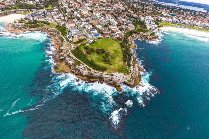 Aerial Photography, Australia, Sea Cliffs, Sydney, Travel