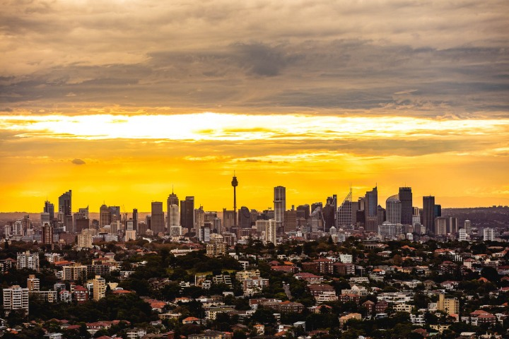 Aerial Photography, Australia, Skyline, Sydney, Travel