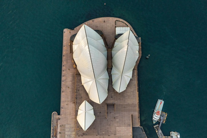Aerial Photography, Australia, Sydney, Sydney Opera House, Travel