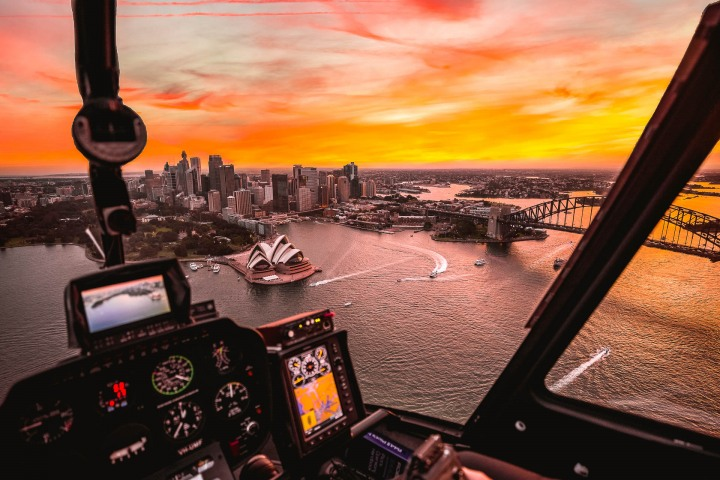 Aerial Photography, AGP Favorite, Australia, Harbor, Sunset, Sydney, Sydney Opera House, Travel