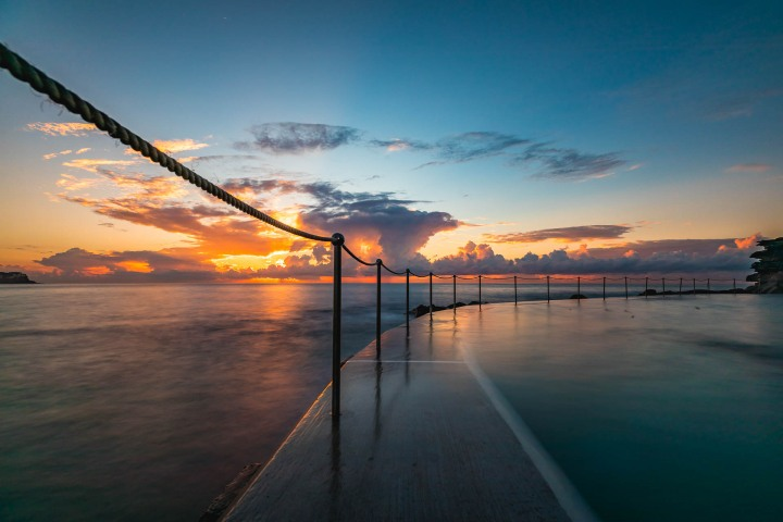 Australia, Bronte Baths, Sunrise, Sydney, Travel