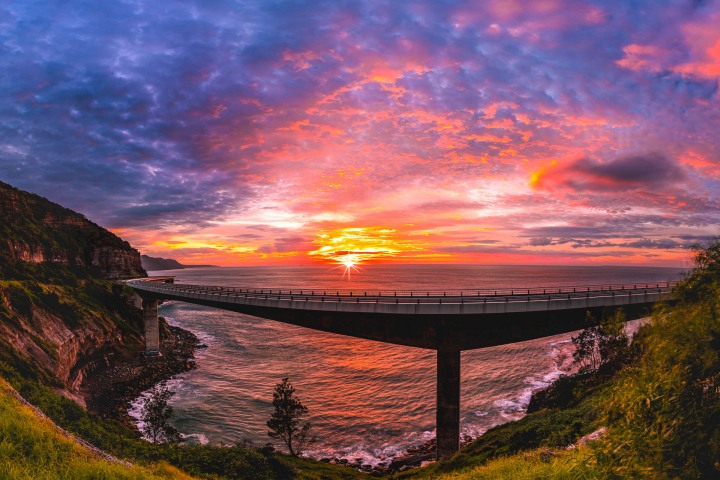 AGP Favorite, Australia, Sea Cliff Bridge, Sunrise, Sydney, Travel
