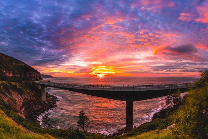 AGP Favorite, Australia, Sea Cliff Bridge, Sunrise, Sydney, Travel