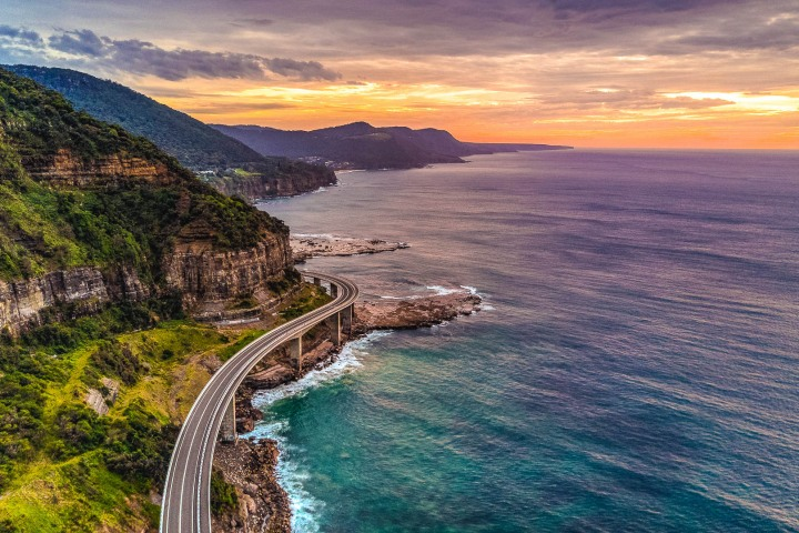 Australia, Sea Cliff Bridge, Travel