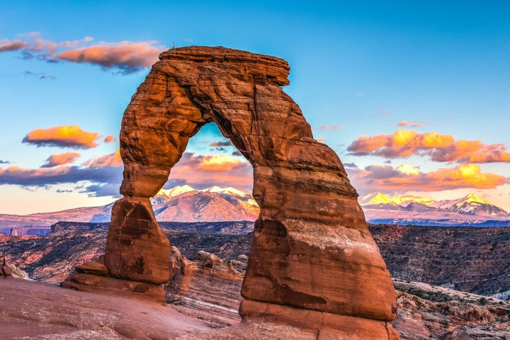 AGP Favorite, Arches National Park, Delicate Arch, Moab, North America, Sunset, Travel, Utah