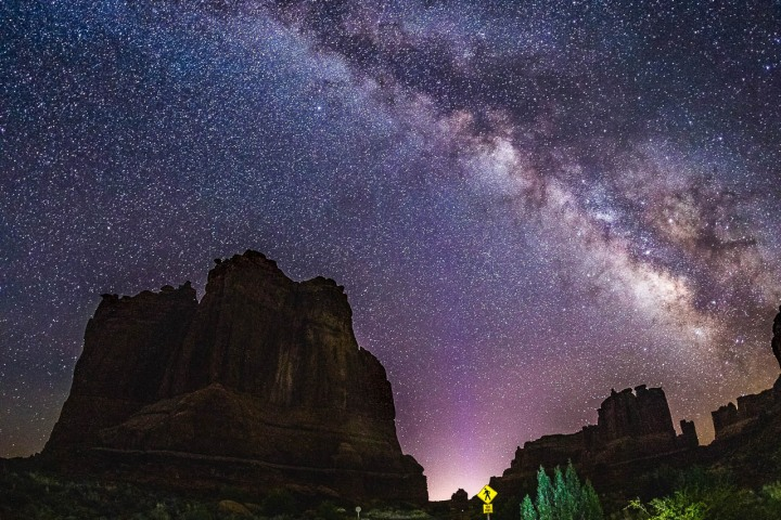 Arches National Park, Astrophotography, Milky Way Photography, Moab, North America, Stars, Travel, United States, Utah