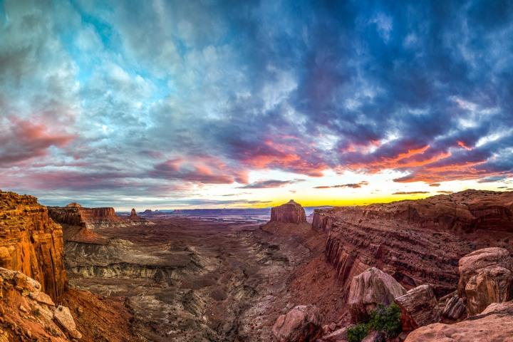 Canyonlands National Park, Moab, North America, Sunset, Travel, United States, Utah