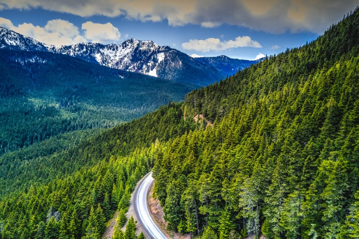 Aerial Photography, AGP Favorite, North America, Olympic National Park, Seattle, Travel, Washington