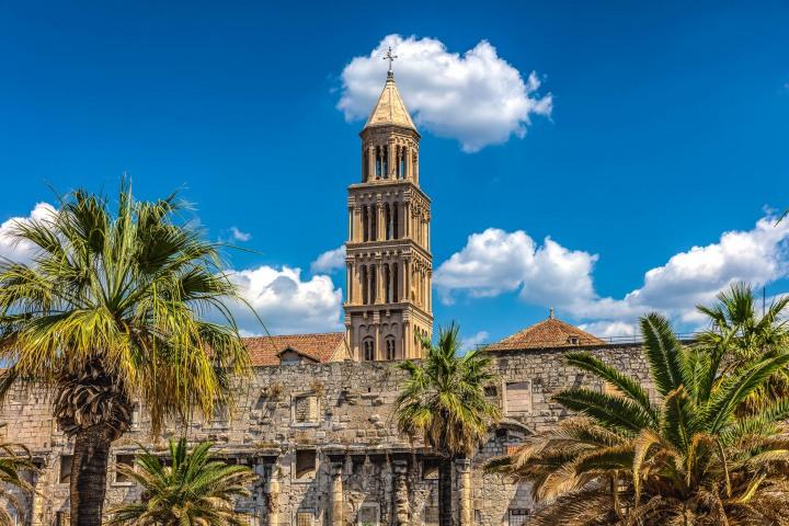 Croatia, Europe, Saint Domnius Cathedral, Split, Travel