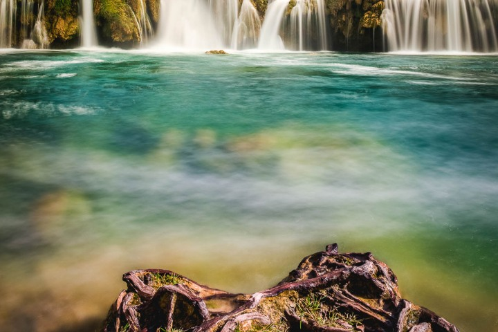Croatia, Europe, Krka National Park, Long Exposure, Travel, Waterfall