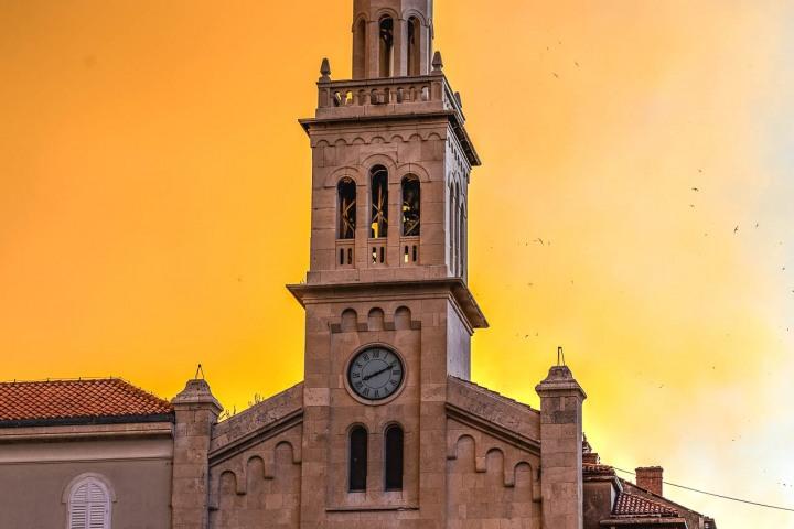 Croatia, Europe, Split, The church and monastery of St. Frane, Travel