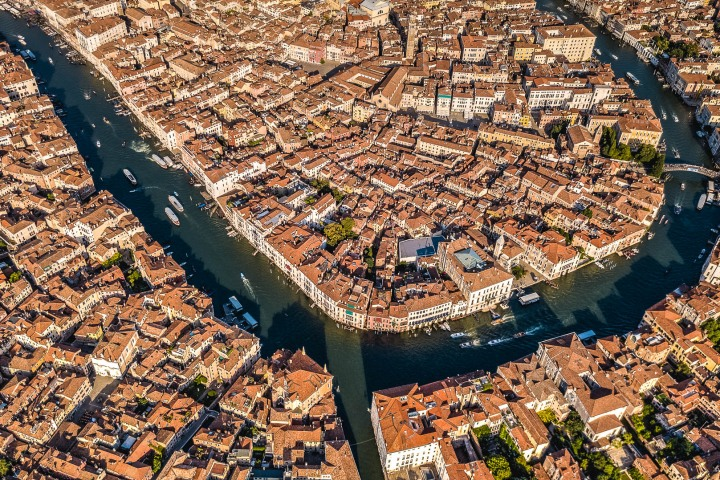 Aerial Photography, Canal, Europe, Italy, Travel, Venetian Lagoon, Venice