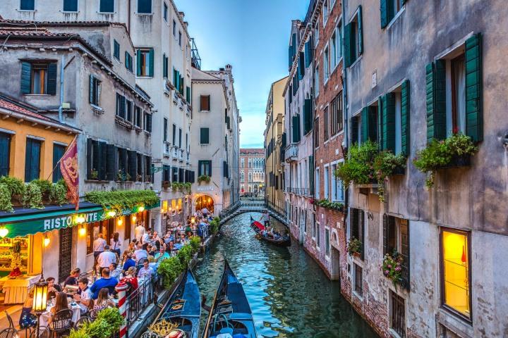 Canal, Europe, Gondola, Italy, Travel, Venetian Lagoon, Venice