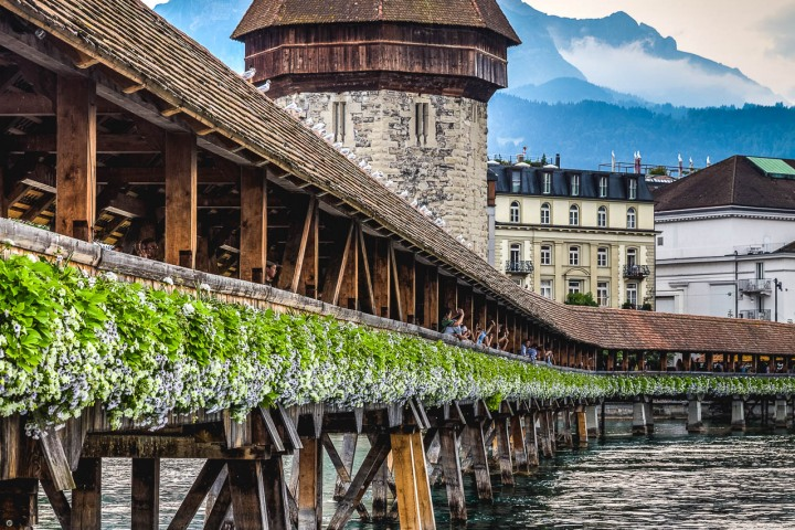 AGP Favorite, Chapel Bridge, Europe, Kapellbrücke, Lake Lucerne, Lucerne, Switzerland, Travel