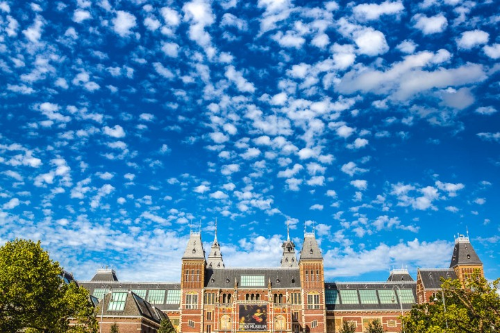 Amsterdam, Canal, Europe, Netherlands, Rijksmuseum, Travel