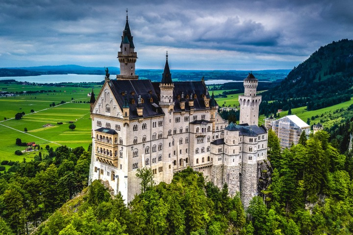 Europe, Germany, Munich, Neuschwanstein Castle, Travel