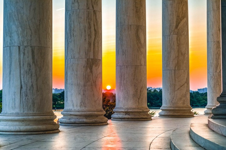 AGP Favorite, North America, Sunset, Thomas Jefferson Memorial, Travel, Washington, Washington DC