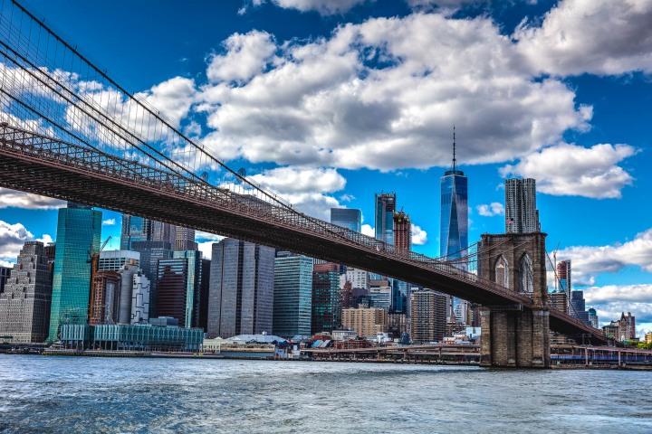 AGP Favorite, Brooklyn Bridge, New York City, North America, NYC, One World Trade Center, Skyline, Travel