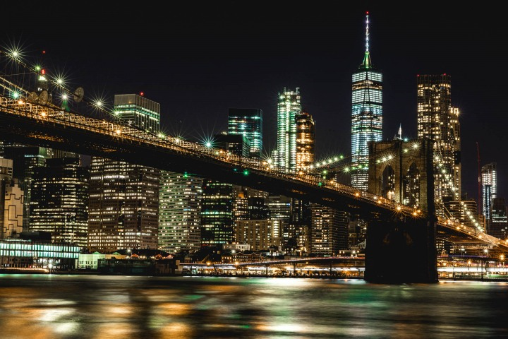 AGP Favorite, Brooklyn Bridge, Long Exposure, New York City, North America, NYC, One World Trade Center, Skyline, Travel