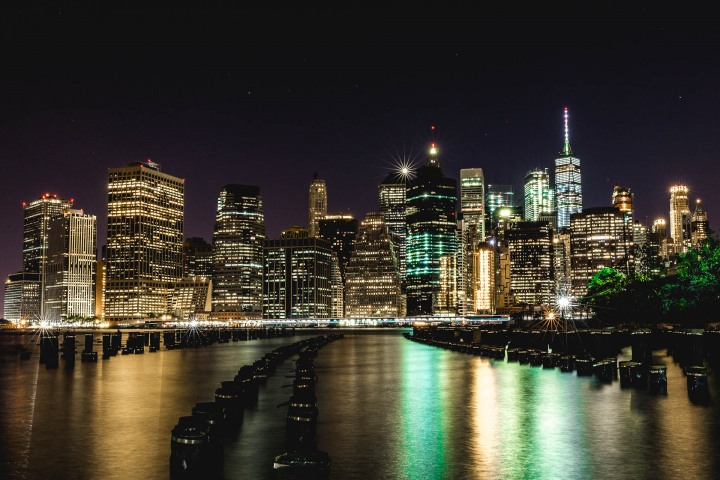 Brooklyn Bridge, Long Exposure, New York City, North America, NYC, One World Trade Center, Skyline, Travel, United States