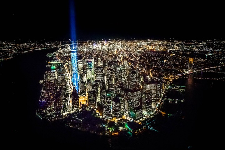9/11 Memorial, Aerial Photography, New York City, North America, NYC, One World Trade Center, Skyline, Travel, United States
