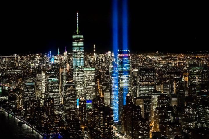 9/11 Memorial, Aerial Photography, New York City, North America, NYC, One World Trade Center, Skyline, Travel