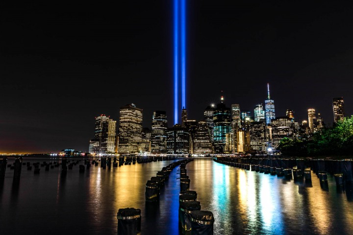 9/11 Memorial, New York City, North America, NYC, One World Trade Center, Skyline, Travel, United States