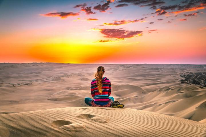 AGP Favorite, Desert, Huacachina, Ica, Peru, Sand dunes, South America, Sunset, Travel