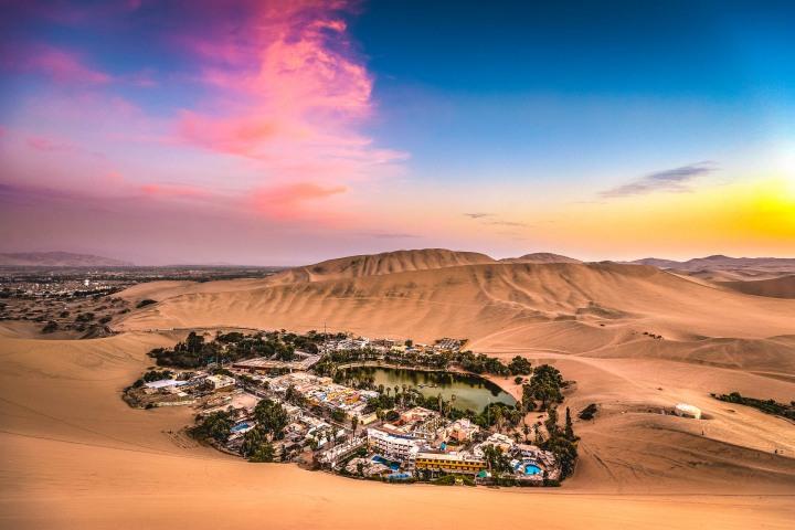 AGP Favorite, Desert, Huacachina, Ica, Laguna Huacachina, Peru, Sand dunes, South America, Sunset, Travel