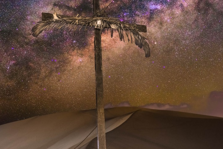 Astrophotography, Desert, Huacachina, Ica, Milky Way Photography, Peru, Sand dunes, South America, Stars, Travel