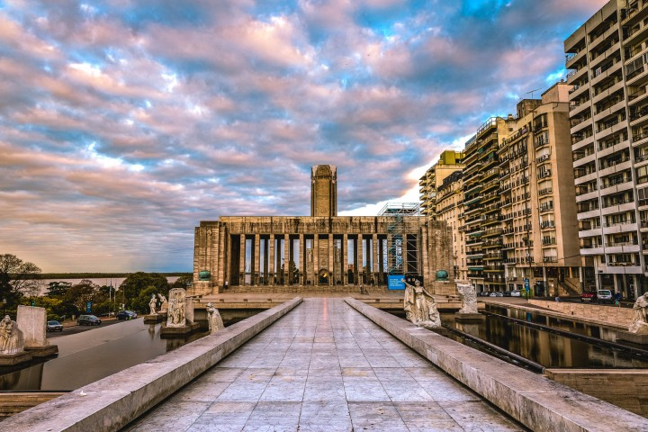 Argentina, Monumento Histórico Nacional a la Bandera, Rosario, South America, Sunset, Travel