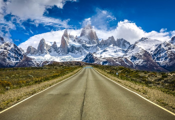 AGP Favorite, Argentina, El Chaltén, Fitz Roy, Mountains, Patagonia, Snow Covered, South America, Travel