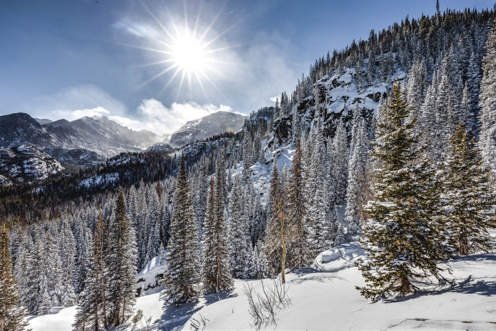 AGP Favorite, Colorado, North America, Rocky Mountains, Snow Covered, Travel, United States, Winter