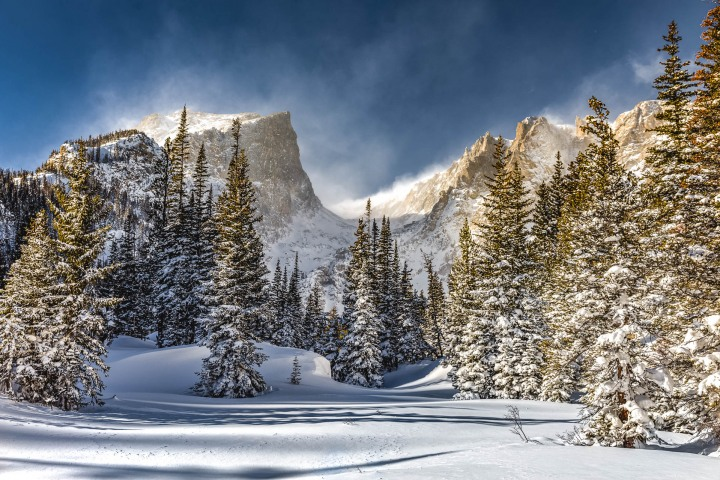AGP Favorite, Colorado, Dream Lake, North America, Rocky Mountains, Snow Covered, Travel, Winter