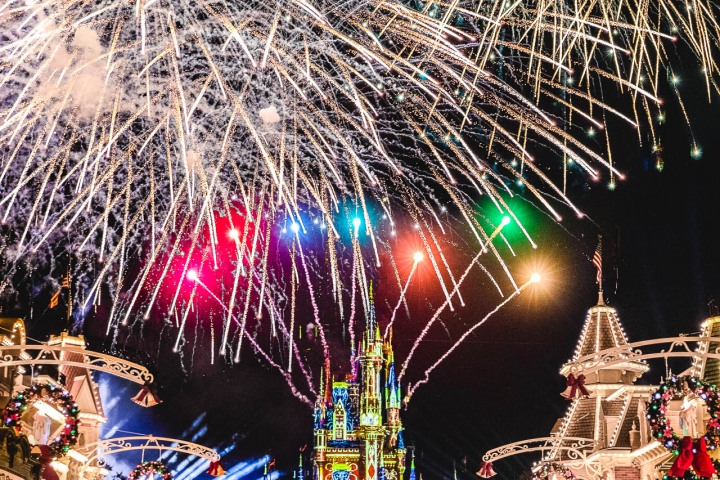 AGP Favorite, Disney, Fireworks, Florida, Magic Kingdom, North America, Orlando, Travel, United States