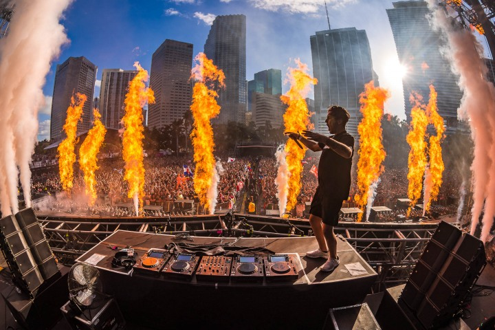 EDM, Fire, Jauz, Music, Ultra, Ultra Miami, UMF