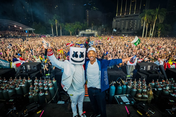 AGP Favorite, EDM, Marshmallo, Music, Ultra, Ultra Miami, UMF, Will Smith