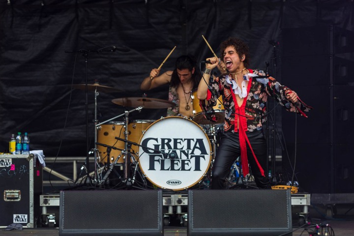 Greta Van Fleet, Music, Rock, Shaky Knees