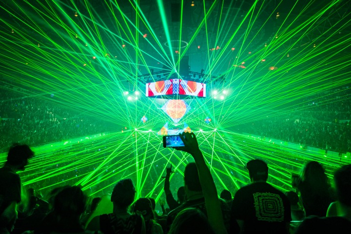 Basscenter, EDM, Lazers, Music, The Mothership