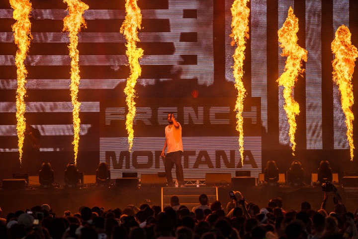 AGP Favorite, Fire, French Montana, hip hop, Life Is Beautiful, Music
