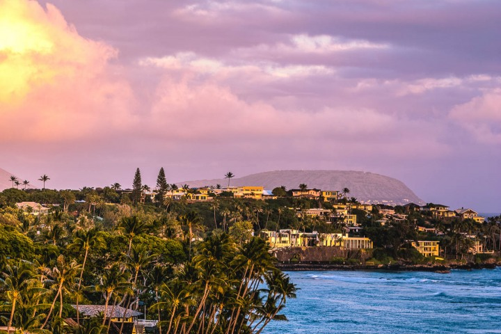 Hawaii, Honolulu, North America, Sunset, Travel, United States