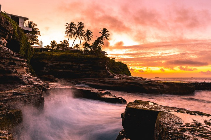 AGP Favorite, Hawaii, Honolulu, Long Exposure, North America, Sea Cliff, Sunrise, Travel, United States