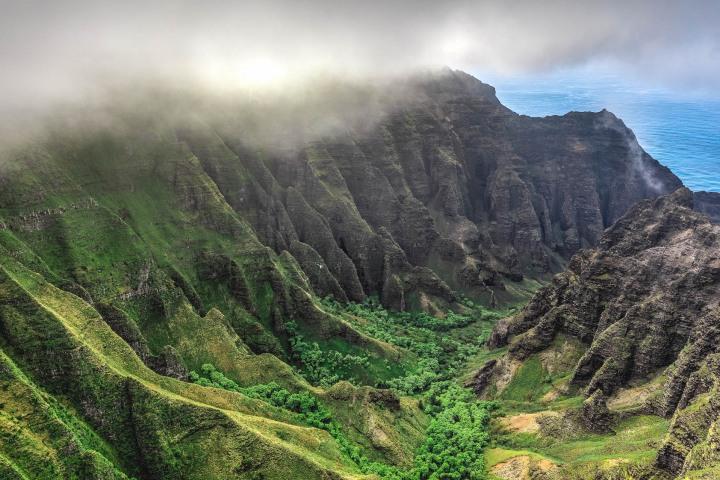 AGP Favorite, Hawaii, Kauaii, Nā Pali Coast, North America, Travel, United States, volcanic mountains