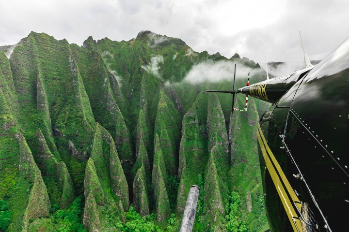 Aerial Photography, AGP Favorite, Hawaii, Kauaii, Nā Pali Coast, North America, Travel, United States, volcanic mountains