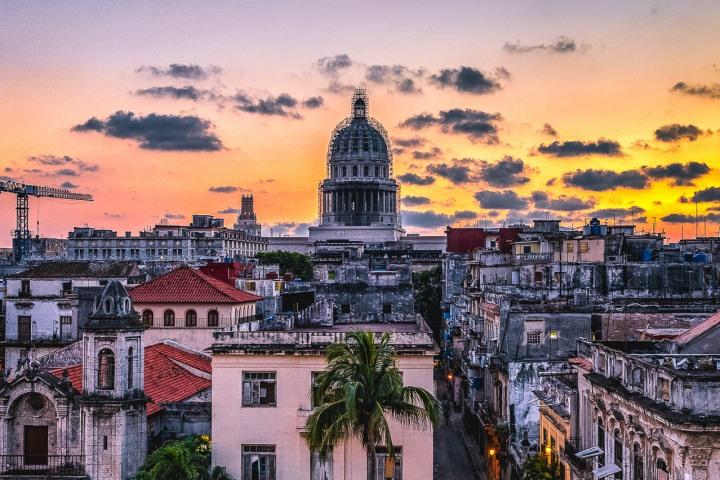 AGP Favorite, Caribbean, Cuba, Downtown, Havana, Sunset, Travel