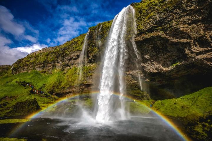 AGP Favorite, Europe, Iceland, Rainbow, Seljalandsfoss, Travel, Waterfall