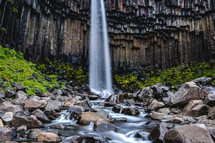 AGP Favorite, Europe, Iceland, Long Exposure, Svartifoss, Travel, Waterfall