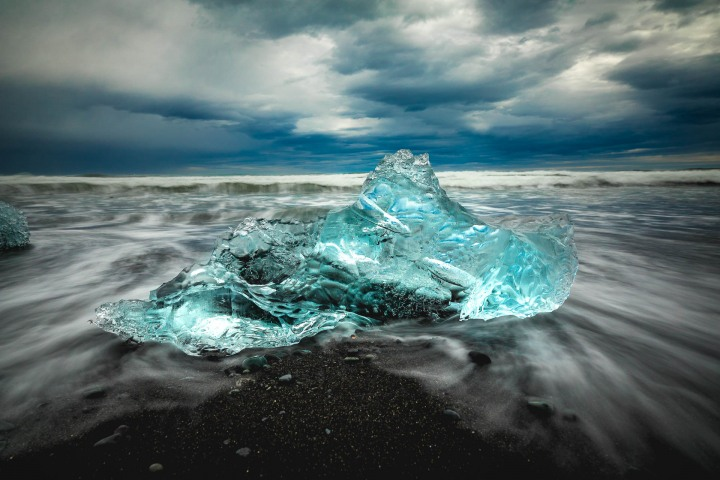 AGP Favorite, Europe, Glacier lagoon, Iceland, Long Exposure, Travel