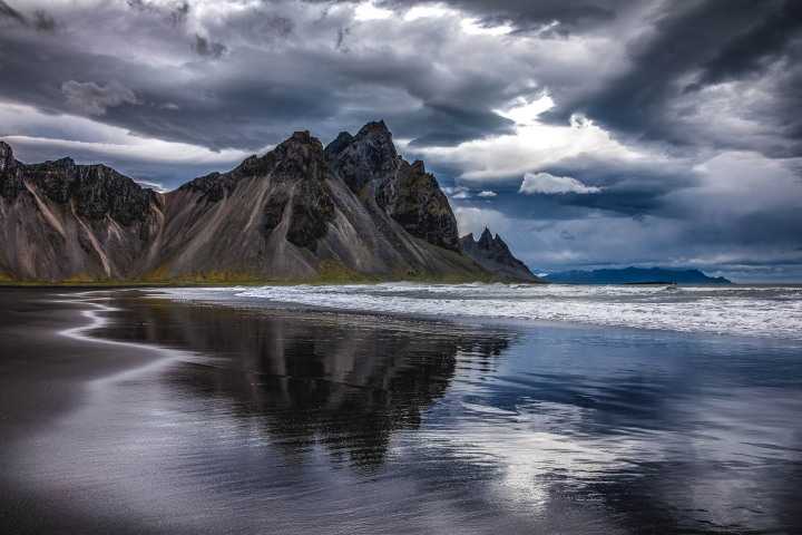 Europe, Iceland, Mountains, Stokksnes, Travel, volcanic mountains